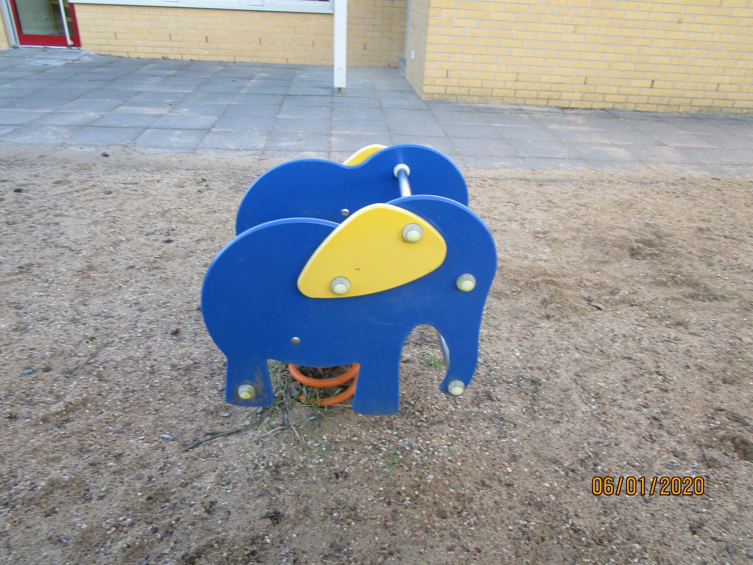 Federtier Elefant
